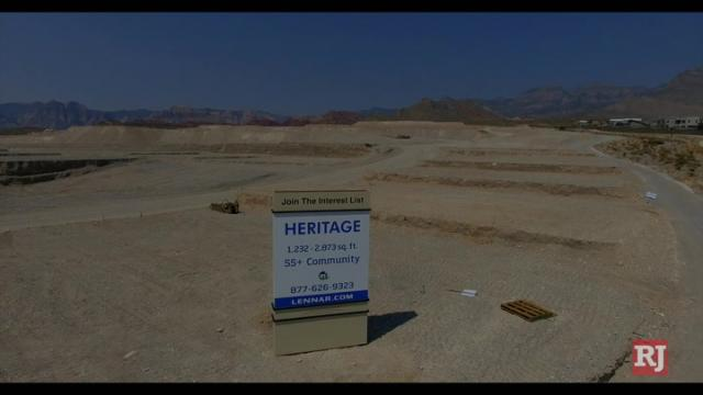 Las Vegas Review Journal News | Homebuilder Lennar Corp. broke ground on a 55-and-over community in Summerlin
