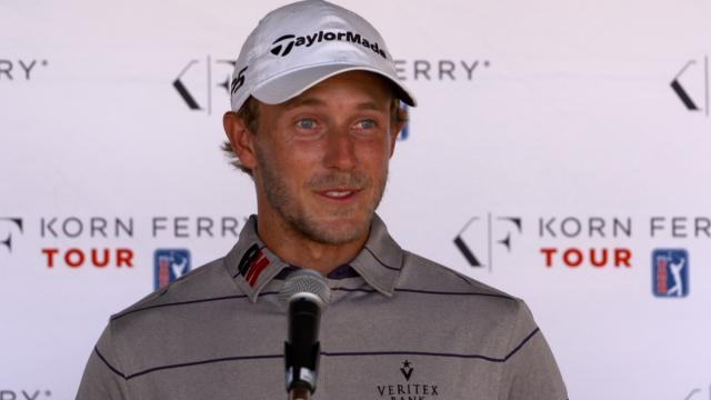 Austin Smotherman comments after Round 1 of the TPC San Antonio Championship