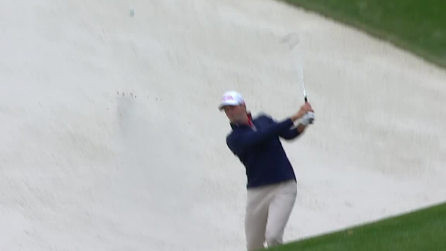 Michael Thompson holes out from bunker at THE PLAYERS