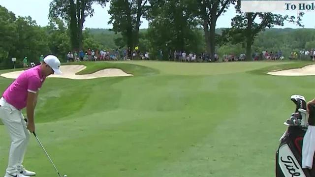 Russell Henley sticks approach to set up birdie at John Deere