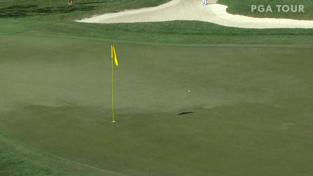 Paul Casey gets up-and-down from bunker for birdie at Valspar