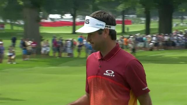 Bubba Watson sinks 20-footer for eagle at Rocket Mortgage