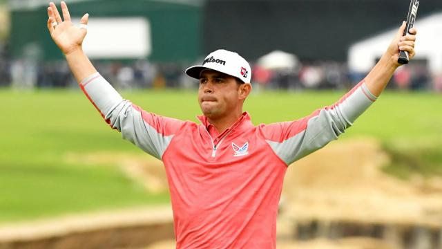 Gary Woodland's U.S. Open New York media tour