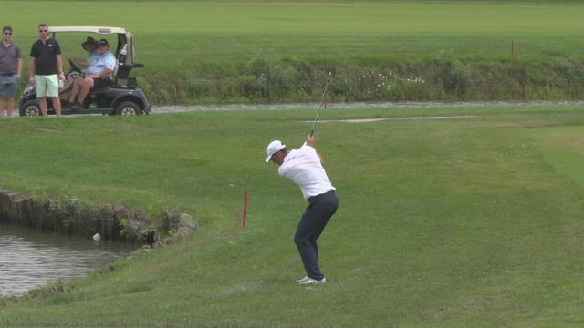Top-3 shots from Round 3 at Wichita Open