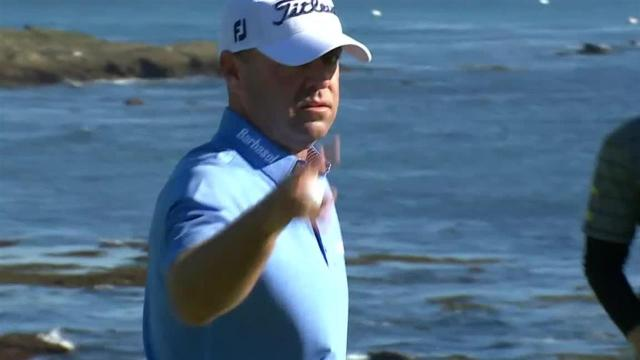 Ryan Armour uses nice approach to set up birdie at AT&T Pebble Beach