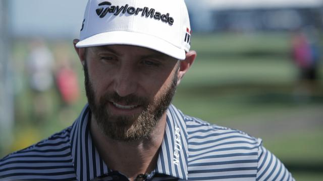 Dustin Johnson looks back at The Masters before RBC Heritage