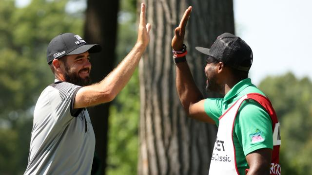 Today's Top Plays: Troy Merritt's ace tops Shots of the Week