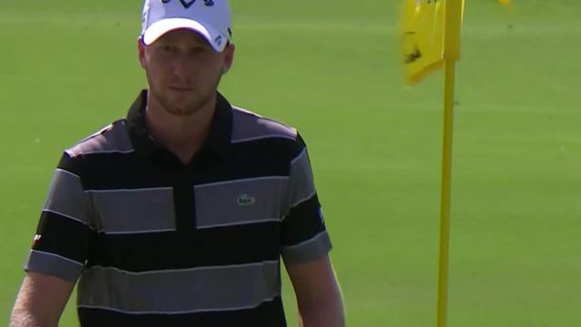 Daniel Berger's hole-out chip shot at Charles Schwab