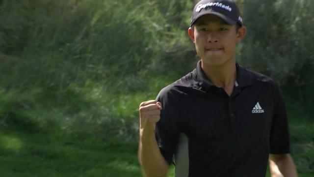 Collin Morikawa's winning highlights from Barracuda Championship