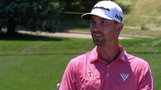 Michael Gligic thoughts on earning PGA TOUR card next season at Pinnacle Bank
