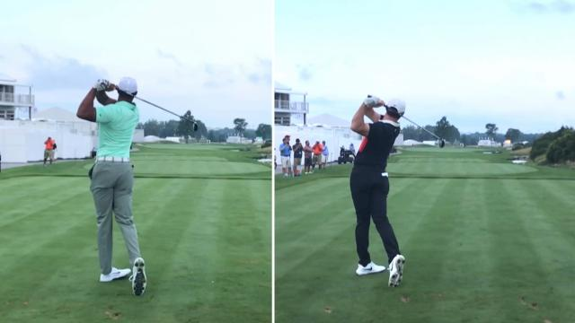 Tiger Woods vs. Rory McIlroy swing analysis