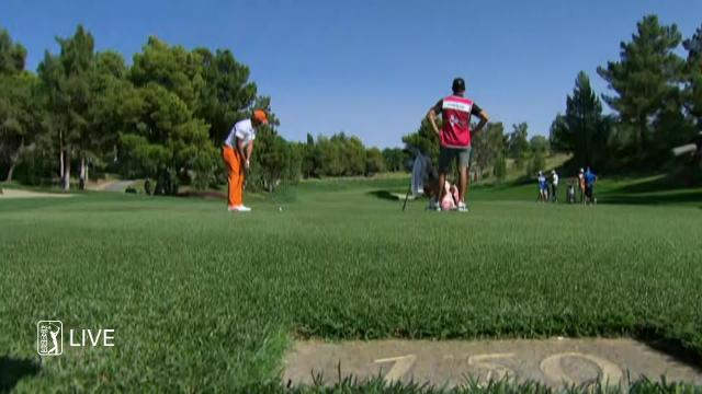 PGA TOUR | Rickie Fowler birdies No. 10 in Round 4 at THE CJ CUP