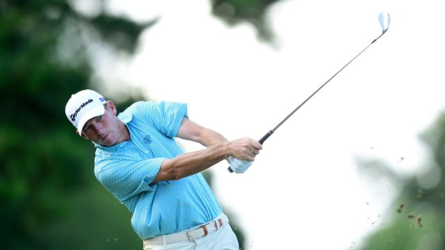 Jim Herman wins by one shot at Wyndham
