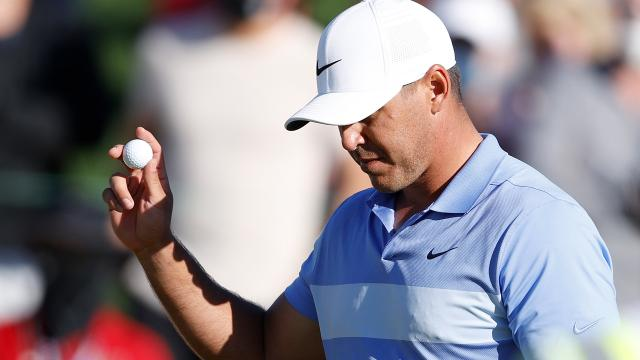 Today's Top Plays: Brooks Koepka's clutch chip-in eagle leads Shots of the Week