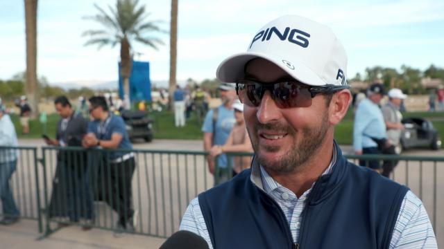 Andrew Landry interview after Round 3 of The American Express