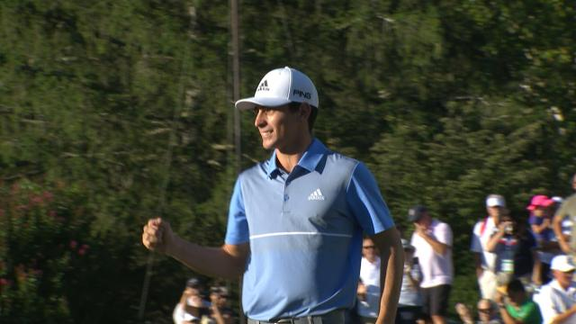 Today's Top Plays: Joaquin Niemann's 22-foot birdie putt on No. 18 for the Shot of the Day