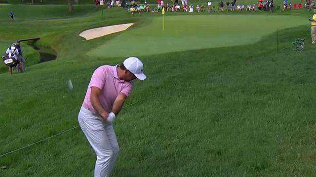 Jason Day's great up and down for birdie at the Memorial
