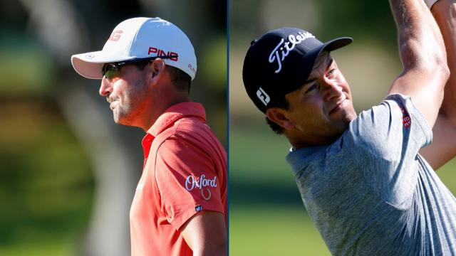 Adam Scott and Andrew Landry card 7-under 65's to share the lead at Safeway Open