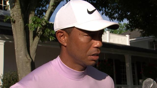 Tiger Woods comments after Round 3 of the Masters