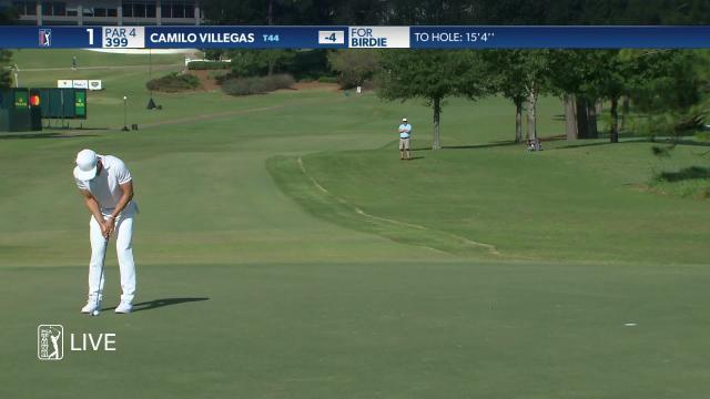 Camilo Villegas birdies No. 1 in Round 4 at Sanderson Farms
