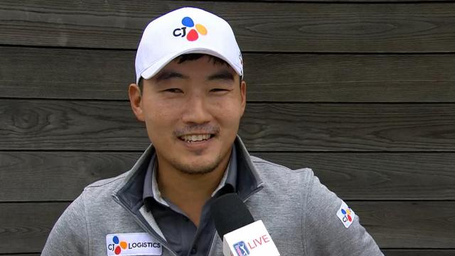 Sung Kang's interview after Round 2 of AT&T Byron Nelson