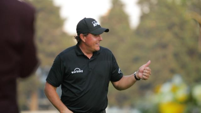 Phil Mickelson's social media use