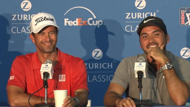 Scott & Day news conference before Zurich Classic