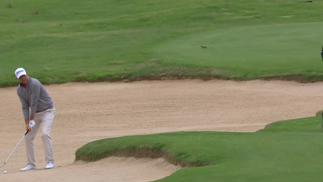 Bill Haas' hole-out from the bunker at AT&T Byron Nelson