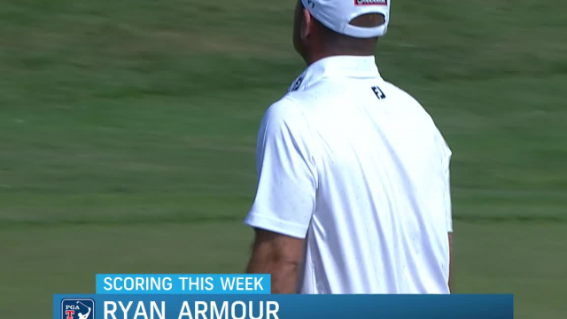 Ryan Armour gets up-and-down for birdie at Valspar