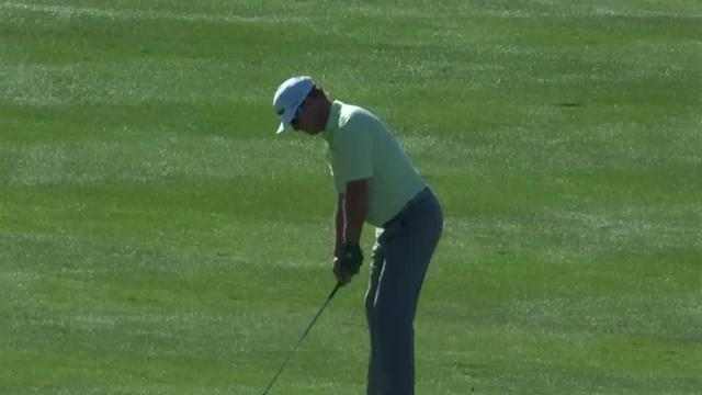 Charley Hoffman uses nice approach to set up birdie at Waste Management