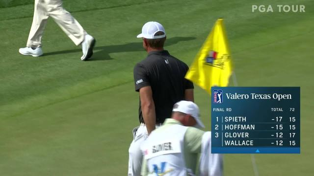 PGA TOUR | Lucas Glover birdies No. 17 in Round 4 at Valero
