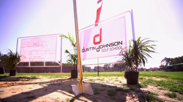 Dustin Johnson gives back to junior golf in South Carolina