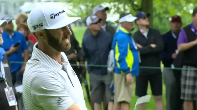 Dustin Johnson sets up birdie with nice approach at RBC Canadian