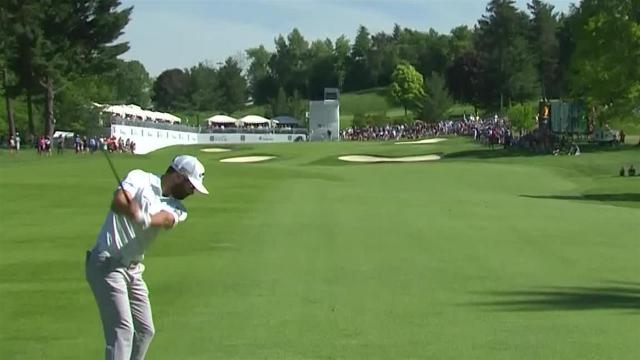Adam Hadwin's 214-yard approach leads to eagle putt at RBC Canadian