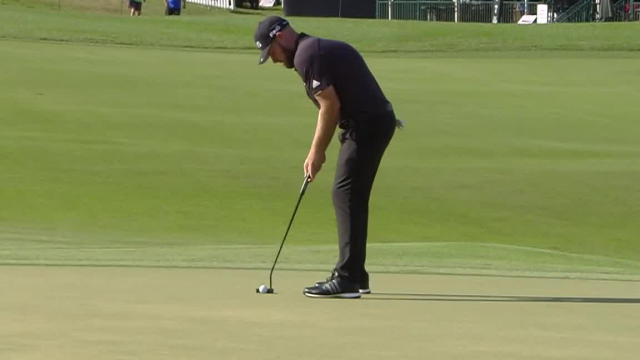 Tyrrell Hatton's 28-foot birdie putt at Arnold Palmer