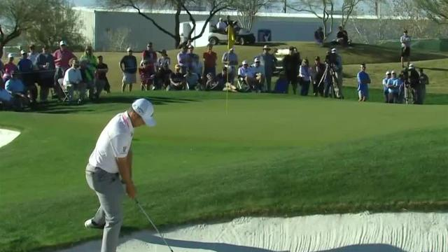 Xander Schauffele's bunker game yields birdie at Waste Management