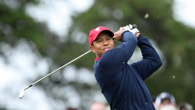 Tiger Woods clinches 2009 Presidents Cup victory for U.S.
