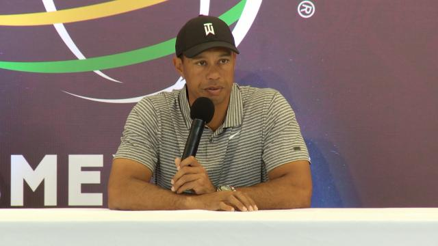 Tiger Woods comments before WGC-Mexico