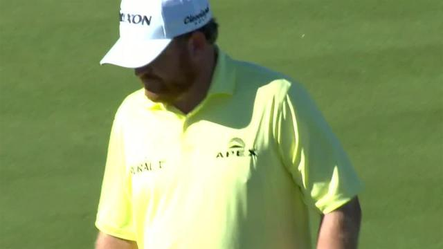 J.B. Holmes sinks 14-footer for birdie at Waste Management