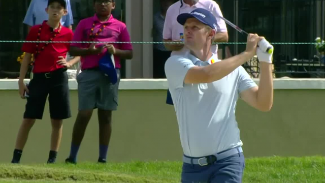 Justin Rose gets up-and-down for birdie at Arnold Palmer