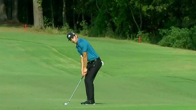 Joaquin Niemann uses nice approach to set up birdie at Sanderson Farms