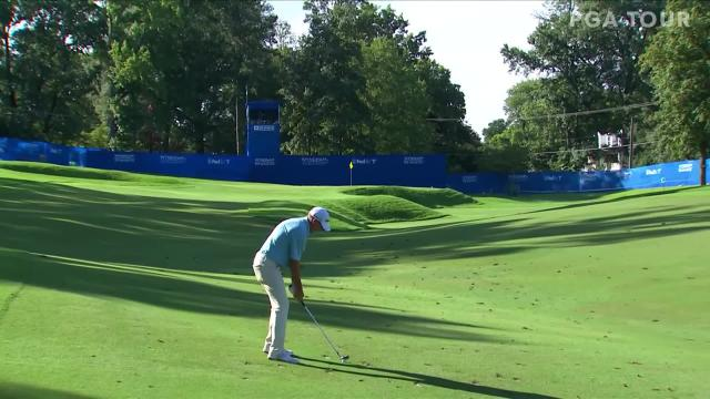 PGA TOUR | Jim Herman makes birdie on No. 17 in Round 4 at Wyndham