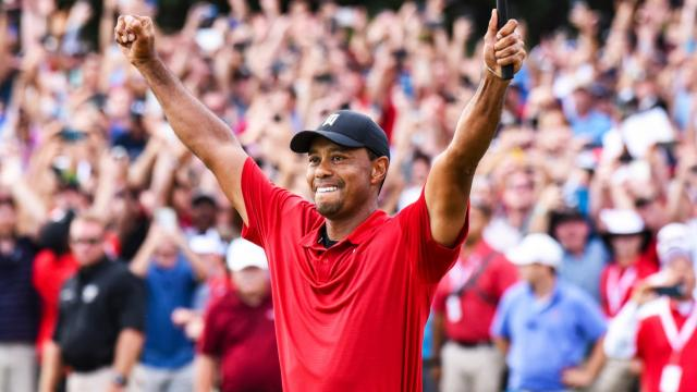 PGA TOUR   On this date: Tiger Woods wins 2018 TOUR Championship