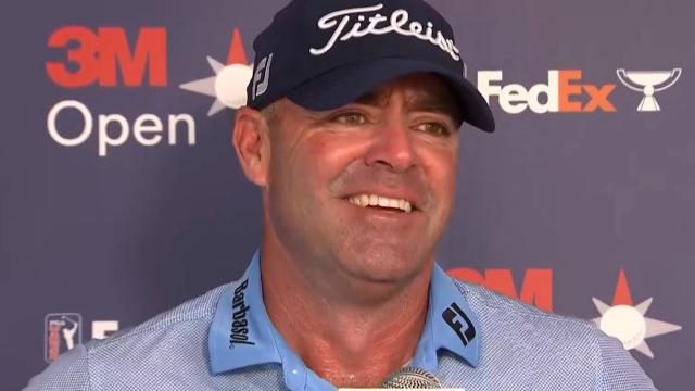 PGA TOUR | Ryan Armour interview after Round 2 at 3M Open