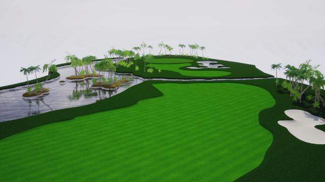 Puerto Rico Open Course Hole Overview