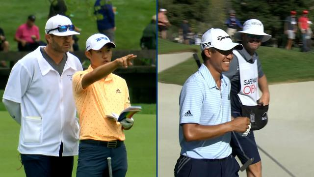All-access: Best Collin Morikawa and caddie conversations on the PGA TOUR