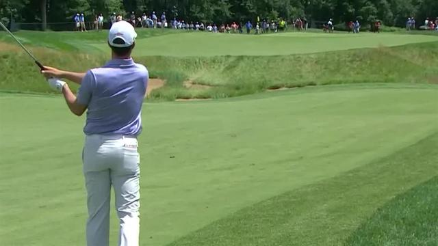 Adam Hadwin's nice approach at 3M Open