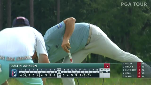 Dustin Johnson's 16-foot birdie putt at Palmetto Championship
