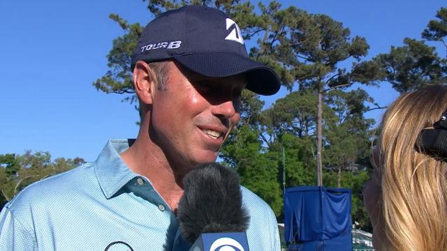 Matt Kuchar's interview after Round 4 of RBC Heritage