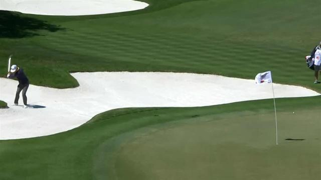 Charley Hoffman's bunker play leads to birdie at Arnold Palmer